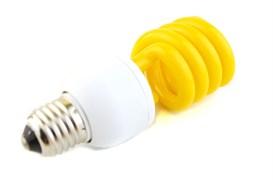 ESL  L9 20W   YELLOW  E27 СПИРАЛЬ d54X156 FOTON -  лампа (093)