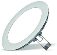 FL-LED  PANEL-R12 4000K D=170мм h=20мм d=155мм 12Вт 1080Лм (светильник встр. круглый)