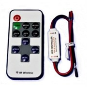 Контроллер LN-RF10B-MINI-2 (12-24V,72-144W, ПДУ 10кн)
