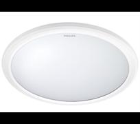 318176 LED CEILING, IP65, 2700K, 12 Вт, белый 290x290x66 (круглый, накладной) - св-к PHILIPS