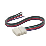 FL-FPC Connector 10mm-BXB  RGB  colour Double side 15cm (соединение двух лент проводом 15см)