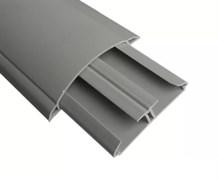 Кабель-канал напольный серый 17х75мм ДКС