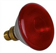 IR PAR38 150W E27 240v 5000h  SYLVANIA  красная - лампа