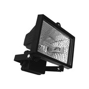 Прожектор галогенный FL-H  500 IP54 черный (S004) СНЯТО
