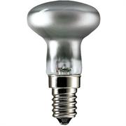 R39   28W 230V 45° E14  PHILIPS  (зеркальная D39mm) - галоген лампа