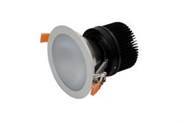 DL-FRIGY 35Вт 70гр. D=144/160мм, h=155мм, IP44 КОРПУС белый - встраиваемого светодиодного светильника