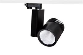 IGLIO 40Вт 4000К 38гр 4200Лм CRI=83 Черный - светодиодный трековый светильник