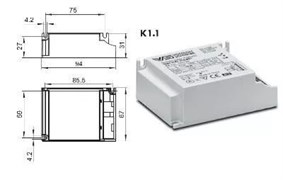 VS ELXc   226.882  TC-DEL/TEL 2х26 103x67x31 - ЭПРА
