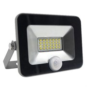 FL-LED Light-PAD SENSOR 20W Black  4200К 1700Лм  20Вт  AC220-240В 140x169x28мм 430г - С датчиком