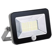 FL-LED Light-PAD SENSOR  30W Black  4200К 2550Лм  30Вт  AC220-240В 190x135x28мм 650г - С датчиком