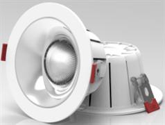 DL-LED SM-D2011-50w 38гр d=230мм (врезное-185мм) h=95mm корпус встраиваемого светильника
