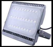 LED BVP161 LED90/NW   100W 220-240V WB 9000lm 4000K 316x234x41  Grey - прожектор PHILIPS(ДО-100Вт)