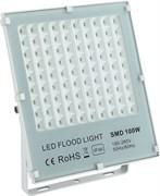 STR-FIRE REF 100W 4200K IP65 40*70гр 230V SMD 11000Лм PF≥0.9 белый -  уличный светодиодный светильник