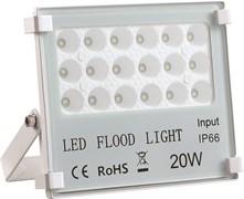 STR-FIRE REF 20W 4200K IP65 60*60гр 230V SMD 2200Лм PF≥0.9 белый -  уличный светодиодный светильник