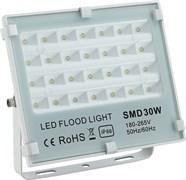 STR-FIRE REF 30W 4200K IP65 40*70гр 230V SMD 3300Лм PF≥0.9 белый -  уличный светодиодный светильник
