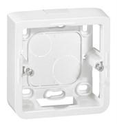 LEG80281 Коробка Mosaic накладная 2М, 40х12.5мм (белая)