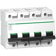 Выключатель автоматический 4-пол. 80A C 10кА C120N Schneider Electric