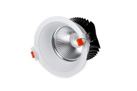DL-LED SKAPE-H 30W 24гр. КОРПУС белый - встраиваемого светодиодного светильника