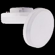 Лампа светодиодная Ecola GX53   LED Premium 12,0W Tablet 220V 2800K матовое стекло (композит) 27x75