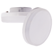 Лампа светодиодная Ecola GX53   LED Premium 12,0W Tablet 220V 4200K матовое стекло (композит) 27x75