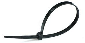 Стяжка кабельная (хомут)  370 х 3,6 мм черная (уп.=100шт) ABB
