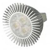 LUXIA LED 3W    GU 5.3   12V  30°  3000K    500cd  50000 h  d 51 x 45  BLV - светодиодная лампа