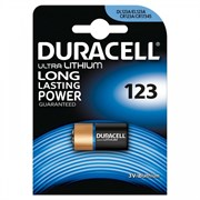 Элемент питания DURACELL HIGH POWER LITHIUM CR123A BL1 - Батарейка