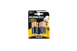 Элемент питания DURACELL LR6 BL6 - Батарейка