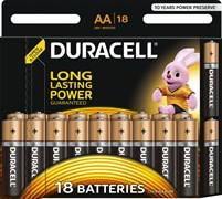 Элемент питания DURACELL LR6 BL18 - Батарейка