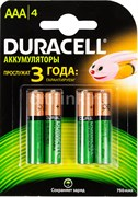 DURACELL HR03 AAA 750мАч BL4 - Аккумулятор