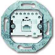 Розетка телефонная (механизм) RJ11/12 1х8 категория 3