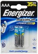 OLD Батарейка ENERGIZER Maximum+Power Boost LR03 BL2 - Батарейка