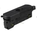 GAC69L-2  адаптер Dali для трековых светильников на шинопровод  6А, 250V (черный). Нагрузка до 5 кг Global - Nordic Aluminium