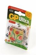 GP Ultra 24AUGL-2CR4 LR03 + магнит Подари Жизнь BL4 - Батарейка