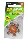 GP Hearing Aid ZA312F-D6 ZA312 BL6 - Батарейка