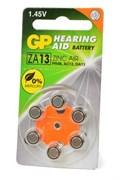 GP Hearing Aid ZA13F-D6 ZA13 BL6 - Батарейка