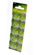 GP Alkaline cell 164-C10 AG1 BL10 - Батарейка