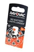 RAYOVAC ACOUSTIC SPECIAL 13 BL6 - Батарейка