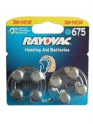 Батарейка RAYOVAC 675 BL8