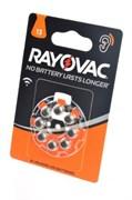 Батарейка RAYOVAC ACOUSTIC Type 13 блистер 8 (4*2)