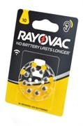 Батарейка RAYOVAC ACOUSTIC Type 10 блистер 8 (4*2)