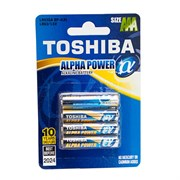 TOSHIBA ALPHA POWER LR6GAFI BP-4S LR6 BL4 - Батарейка