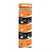 MINAMOTO Button Cell AG2 BL10 - Батарейка
