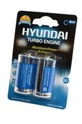 HYUNDAI POWER ALKALINE LR14 BL2 - Батарейка