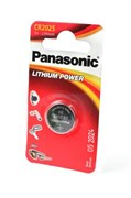 Panasonic Lithium Power CR-2025EL/1B CR2025 BL1 - Батарейка