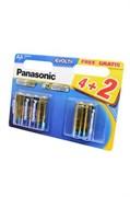 Panasonic EVOLTA LR6EGE/6BW 4+2F LR6 4+2шт BL6 - Батарейка