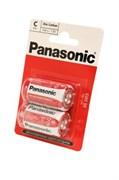 Panasonic Zinc Carbon R14RZ/2BP R14 BL2 - Батарейка