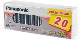 Panasonic Everyday Power LR6EPS/20BB LR6 в упаковке 20 шт  - Батарейка