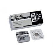 MAXELL SR721SW 362 (RUS), в упак 10 шт - Батарейка