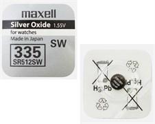 MAXELL SR512SW 335 - Батарейка